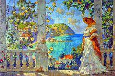 Lady in Capri