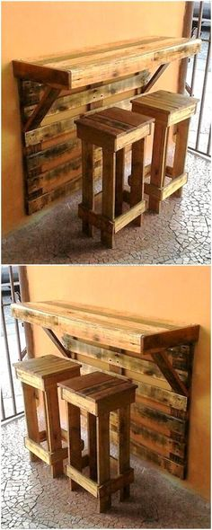 Pallet Projects: Look at this pallet project. A wall mounted bar an Pallet Projects: Look at this pallet project. A wall mounted bar an The post Pallet Projects: Look at this pallet project. A wall mounted bar an appeared first on Pallet ideas. Wooden Pallet Projects, Wooden Pallets, Diy Projects With Pallets, Diy With Pallets, Diy Wood Projects For Men, Garden Ideas With Pallets, Simple Woodworking Projects, 1001 Pallets, Recycled Pallets