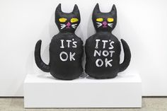 Cat (It's OK, It's Not OK) - David Shrigley