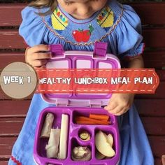 Ellie started 4k 5-days-per-week today which means ONE MORE lunchbox idea from me weekly. Because she has to be inside the school by 8:30am and I don't want to be known as that parent that constantly has to go to the office to check her in, my goal this year is to plan ahead and have lunchboxes assembled a few days ahead or at least by the night before. Here's my lunchbox menu plan for Ellie for the week. In the weeks ahead, look for grocery lists, make-ahead instructions, prep tips, ...