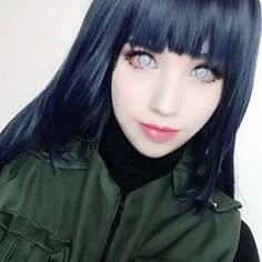 First selfie from my Hinata Costest. The lenses were so creepy and it was hard to see but hopefully you like it 😅 Who is your favourite character in Naruto? Of course I edited the eyes Lenses are from and initially like the white screen lenses 😊 Hinata Cosplay, Anime Cosplay, Cosplay Girls, Hinata Hyuga, Naruhina, Naruto Shippuden, White Eyes, Amazing Cosplay, Depressed