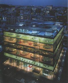 Toyo Ito   Mediateca   Sendai, 2000