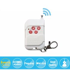 Free Shipping!! 433mhz Wireless metallic remote control for camera alarm system, security system White #jewelry, #women, #men, #hats, #watches