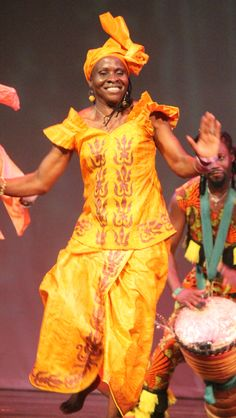"""Kadiatou Conte-Forte, affectionately known as """"Mama Kadiatou,"""" will bring the gracious stylings of Guinea to the 19th Annual Florida African Dance Festival.  She, along with several of her colleagues, will light up the dance floor June 9 – 11 in Tallahassee.  Prepare to be a part of a spirited cultural extravaganza! Go to fadf.org for details about artists, activities and accommodations.  #FADF2016 #AfricanDance #AfricanDrum #Africa"""