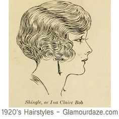 Vintage Hairstyles - Well girls here they are again – 12 classic bob cuts for you to choose from. hairstyle chart published in 1924 Easy Vintage Hairstyles, 1920s Hairstyles, Bob Hairstyles, Retro Updo, Retro Hair, Hair Sketch, Old Tattoos, Short Bob Haircuts, Tattoo Ideas