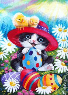 118 best 35 cats  easter images  cats easter cats easter