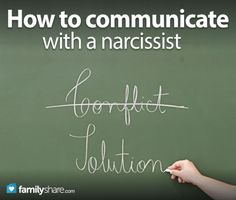 How to communicate with a narcissist If you find yourself co-parenting with a narcissist, the no engagement rule has to be altered to limited engagement.