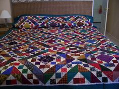 great quilt for scrap fabric