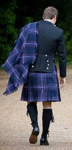 The Scottish look, oh yeah!!
