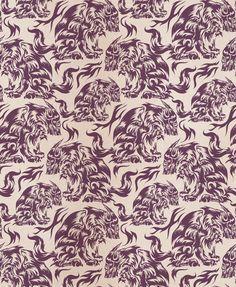 Sitting Wolf pattern by JTO