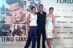 María Valverde - Mario Casas - Clara Lago. Protagonistas de Tengo Ganas de Ti.