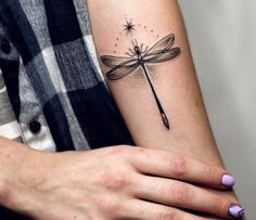 Tattoo Libelle interessantes Design