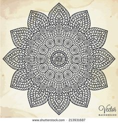 hand drawn mandala - Bing Images