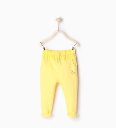 Smile trousers-New this week-Baby girl   3 months-3 years-COLLECTION SS16   ZARA France