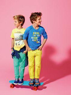 Mango Kids SS14, catálogo de moda infantil http://www.minimoda.es