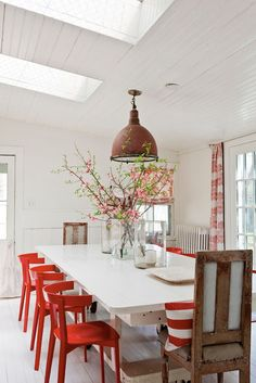 red kitchen chairs home depot remodeling 39 best or do i want images dining area
