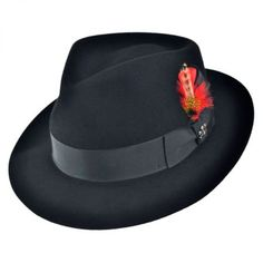 7a0d4cb6463 Naples Fur Felt Fedora Hat available at  Brighton Jaxon Hats