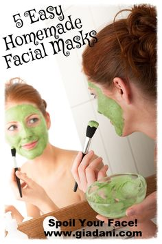 5 Homemade Facial Masks Using Everyday Ingredients