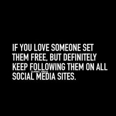 If you love someone...
