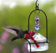 Bouquet Sparkle Hummingbird Feeder