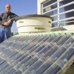 Agua potable con energía solar