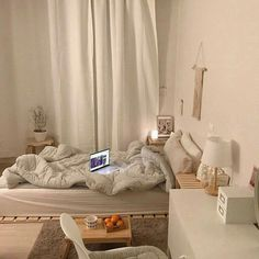 bedroom ideas coffee milk tea wooden light soft minimalistic aesthetic home interior korean apartment soft aesthetic kawaii g e o r g i a n a : f u t u r e h o m e ideas aesthetic g e o r g i a n a aesthetic bedroom Room Design Bedroom, Room Ideas Bedroom, Small Room Bedroom, Bedroom Decor, Small Rooms, Bedroom Bed, Bed Room, White Bedroom, Wooden Furniture Bedroom
