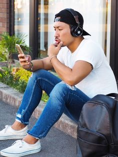 daiki|BANKSのキャップを使ったコーディネートWEAR #bluedio #headphones