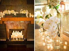 So romantic! Photos:Samuel Lippke Studios. Wedding Coordinator: Thomas Bui Lifestyle. Florals: Adorations Botanical Artistry.