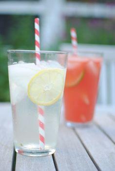 Basil lemon soda & watermelon basilcooler.