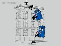 How He Survived is a shirt on ShirtWoot! today only. I'm, unfortunately, not going to be buying one, but I needed this picture on my Sherlock board anyway!