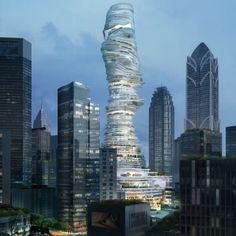 De gebouw is heel apart gebouwd ik vind het heel mooi!!