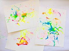 hello, Wonderful - DIY ABSTRACT BUBBLE PAINTING WITH KIDS
