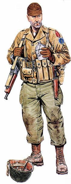U.S. ARMY - 1st Special Service Force (also called The Devil's Brigade) - elite American-Canadian commando unit in World War II, under command of the United States Fifth Army.