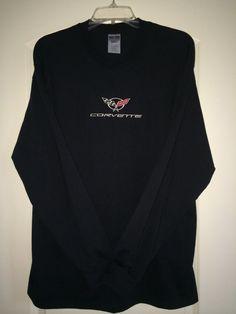 Corvette T Shirt C5  MENS BLACK Long sleeve by NorCalCorvette