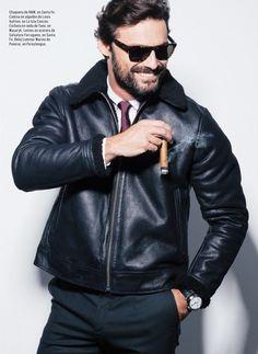 Ivan Sanchez en la revista Esquire MX. Ivan Sanchez, Esquire, Good Looking Men, My Way, Eye Candy, Crushes, How To Look Better, Babe, Leather Jacket