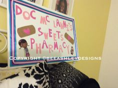 Doc McStuffins Pharmacy Sweets Table Sign