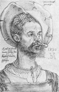 Albrecht Dürer, Portret van kapitein Felix Hungersperg, 1520