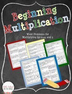 Teaching Multiplication FREEBIE!!!