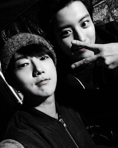 Yesung's IG with Chanyeol