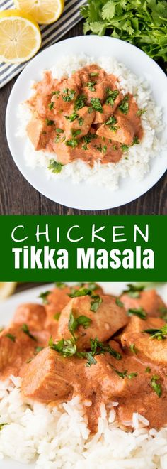 This Chicken Tikka Masala recipe is absolute perfection with a spiced yogurt marinade and a quick and easy masala sauce that is full of Indian flavors.