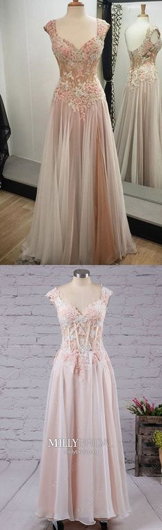 Long Prom Dresses For Teens,Pink Prom Dresses with Cap Sleeves,Modest Prom Dresses Lace,A-line Prom Dresses V-neck Graduation Dresses Long, Unique Homecoming Dresses, Prom Dresses Long Pink, Long Prom Gowns, Formal Dresses For Weddings, A Line Prom Dresses, Prom Party Dresses, Affordable Evening Gowns, Glamorous Evening Dresses