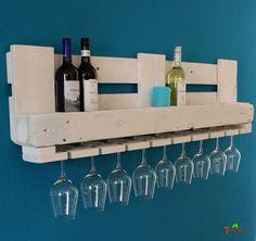 BOTELLERO PARA VINO palets Muebles Estante de Pared Madera Barra REGALO rural | Casa, jardín y bricolaje, Cocina, comedor y bar, Utensilios de vino y bar | eBay!
