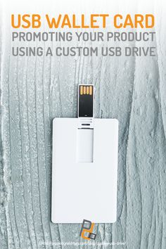 Promotional items such as custom USB drives play a big role in marketing campaigns and branding strategies. Learn how to use these in your business here! Computer Gadgets, Promotional Giveaways, Usb Drive, Diy Stuff, Card Wallet, Flash Drive, Business Cards, Computers, Technology