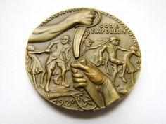 Online veilinghuis Catawiki: Münchner Medailleure - Bronzegussmedaille 1920 von Karl Goetz Wüstlinge am Rhein