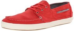 Tretorn Mens Otto Canvas Fashion Sneaker Aurora Red 11 D US >>> Check this awesome product by going to the link at the image.
