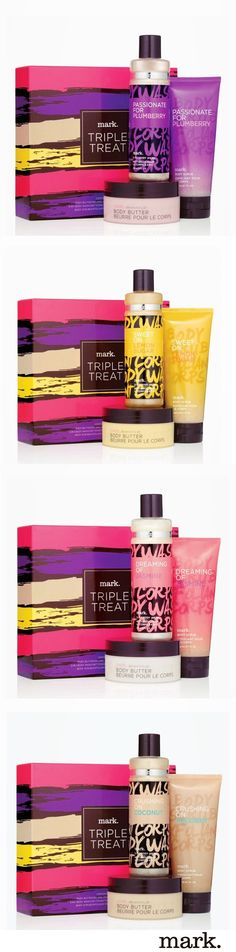 Shopping wouldn't be complete if you didn't indulge in something sweet! These mark. bath & body sets are the perfect gifts! #AvonRep www.youravon.com/jbywater