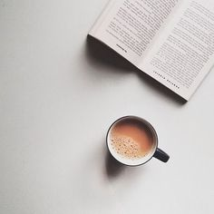 reading and coffee, the essentails