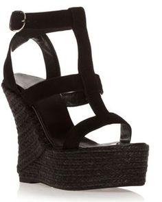 Sandales compensées Castaner
