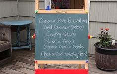 party perfect: dino dig party