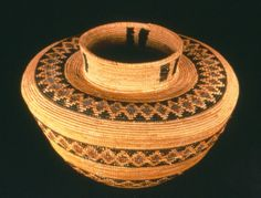 California Indian Water Basket. Pinned by www.CaliforniasHarvest.com